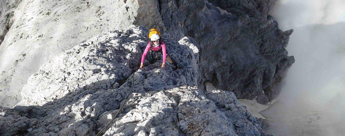 Bergerlebnisse: Klettern in Südtirol und den Dolomiten