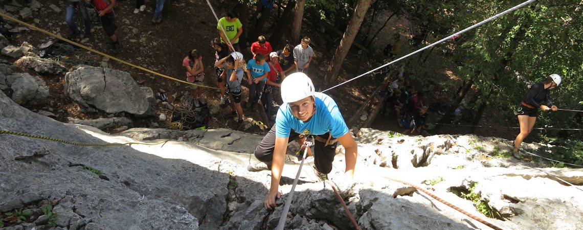 Lehrgang Erlebnispädagogik / Klettern