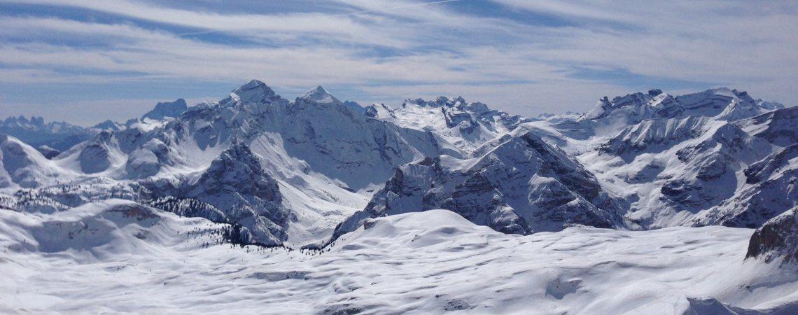 Skitour Col de Riccigon / Dolomiten