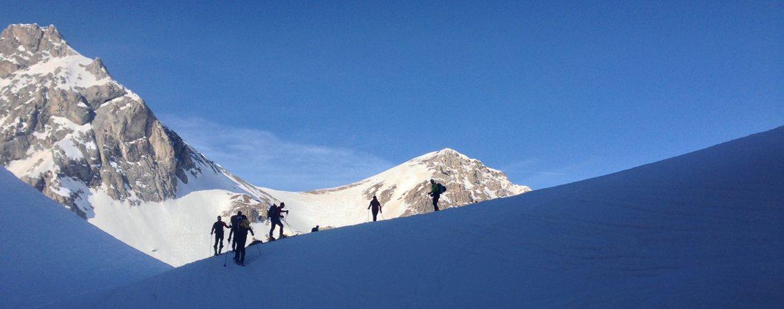 Skitouren Valmaira