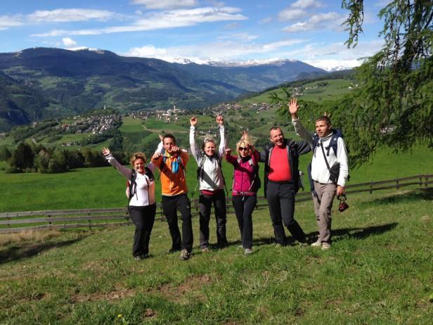 Abschluss Ausbildung zum Südtiroler Wanderführer
