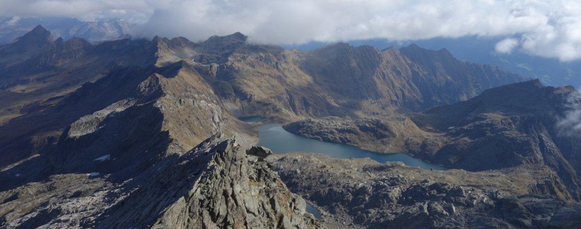 Bergtour Tschigot: Blick Richtung Norden