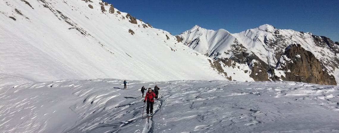 Valle Maira Skitouren Dezember 2016