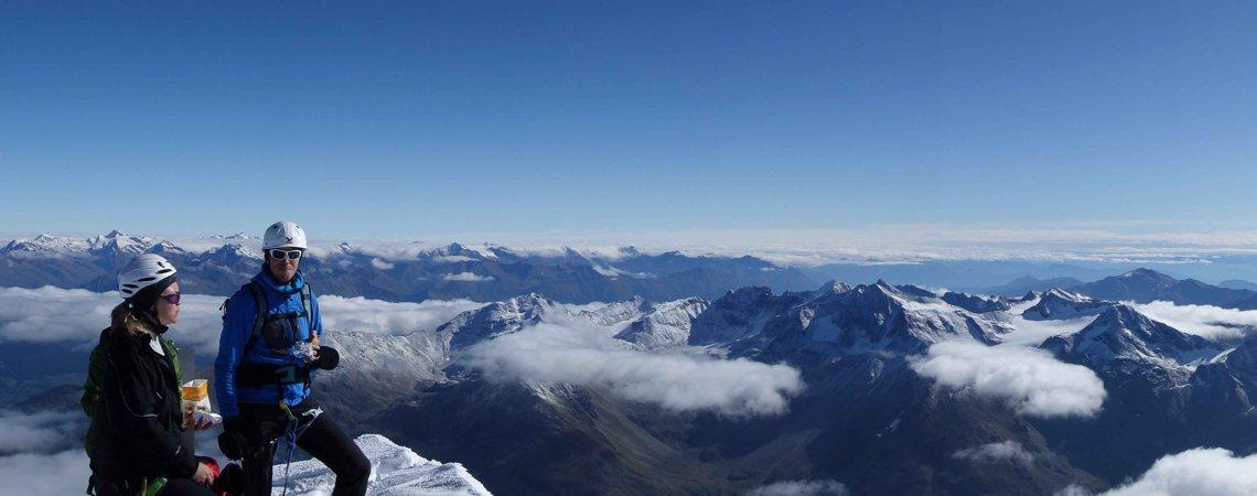 Hochtouren in den Alpen mit Renato Botte