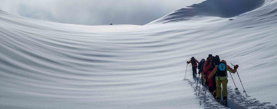 Bergführer Renato Botte: Skitouren in den Dolomiten