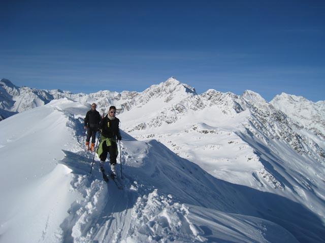 Traumbedingungen am Alpenhauptkamm