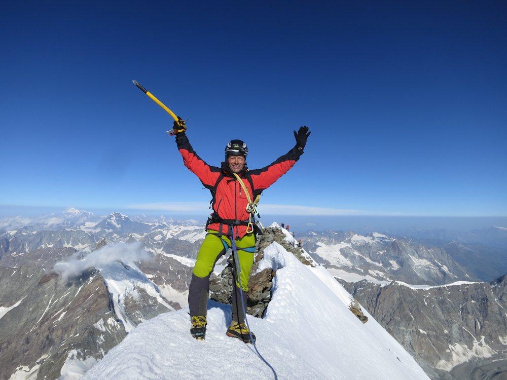 Walter am Matterhorngipfel