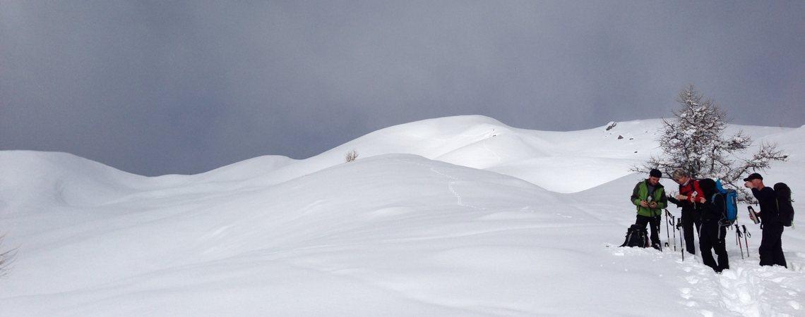 Schneeschuhtouren Valle Maira