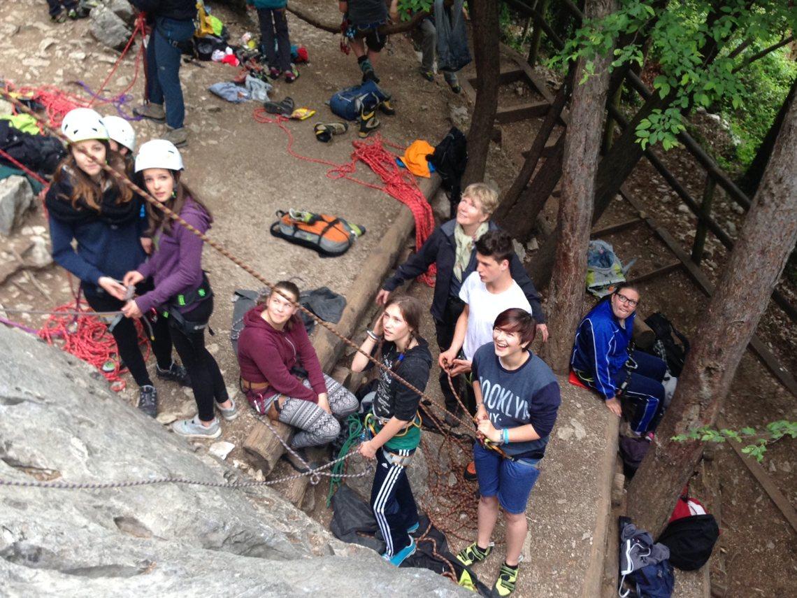 Bergerlebnis: Klettern am Muro dell'Asino
