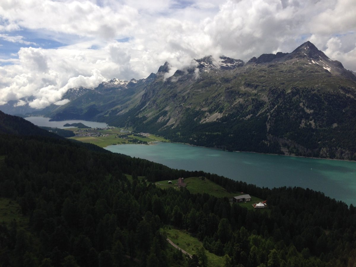 Bergerlebnis: Silvaplanasee bei St. Moritz