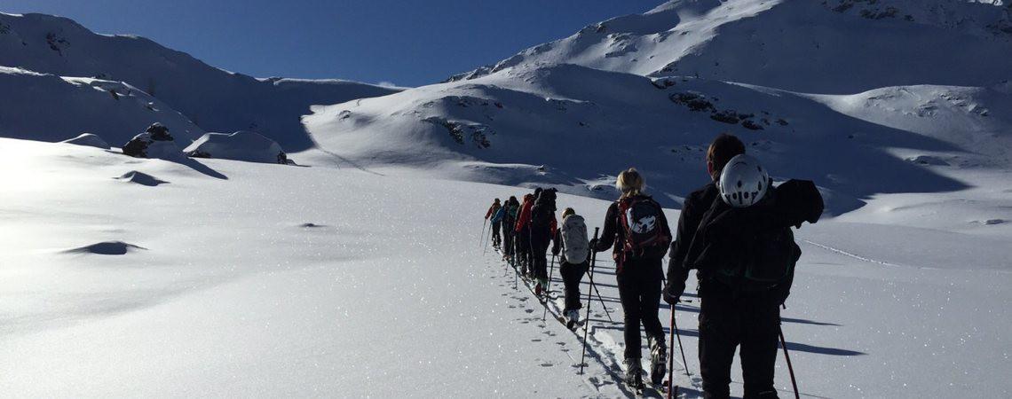 Skitourenkurs Lesachtal / Renato Botte