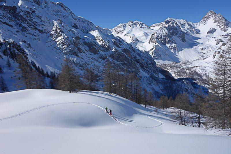 Skitouren Val-Maira / Bric Boscasso