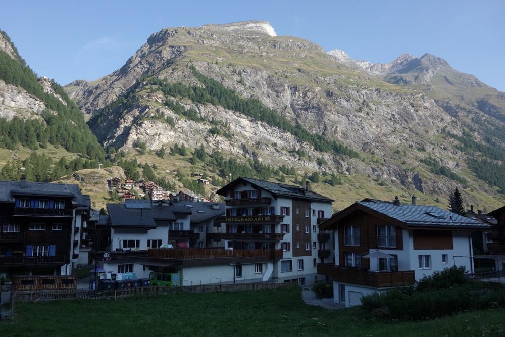 Hochtour Dufourspitze / Zurück in Zermatt