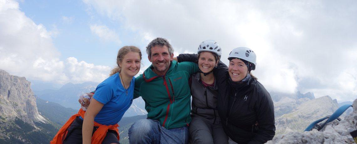 Gipfelfoto am Hexenstein